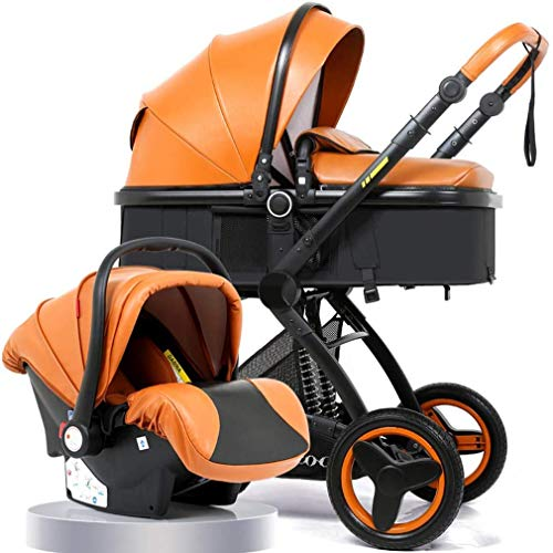 Fantastic Deal! Stroller Compact Pram Strollers Foldable City Carriage for All Terrain Folding Buggy...