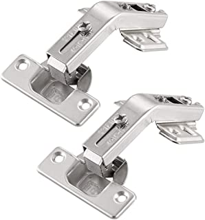 Enerhu 2 Packs 135 Degree Cabinet Hinges Kitchen Door Cupboard Drawer Wardrobe Hinges 135°