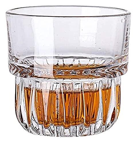NUOCHEN Whisky Gafas Vino Vino Vino Vino Vidrio Vidrio Templado Vidrio Vidrio Blanco Copas de Vino casero espíritu Tazas Cerveza Tazas Tazas Famoso Vidrio Templado Vidrio Vidrio Vale la pena Tener
