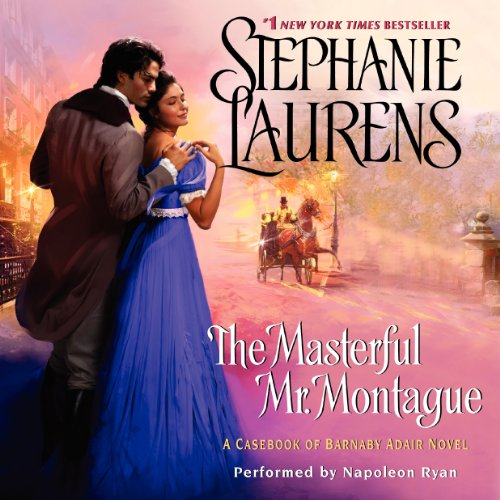 The Masterful Mr. Montague audiobook cover art