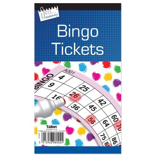 Bingo Tickets (12 Libri)
