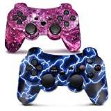 PS3 Controller Wireless Bluetooth Gamepad für PlayStation 3 Dual Vibration Game Controller...