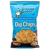 New 380276 Granny Goose Dip Potato Chips Ridged 5 Oz (12-Pack) Snacks Cheap Wholesale Discount Bulk Snacks Snacks Square