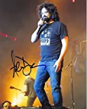 ADAM DURITZ signed autographed COUNTING CROWS w/ KISS T-SHIRT photo
