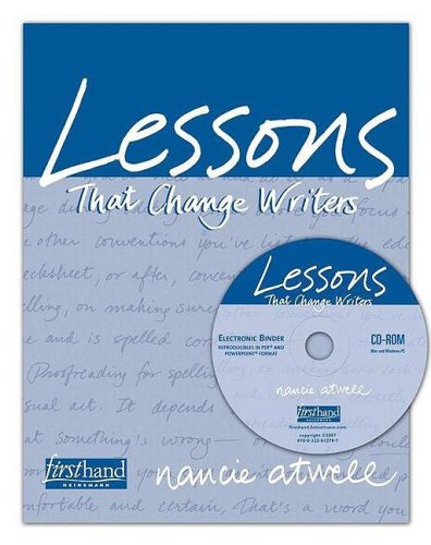 Download Lessons That Change Writers 0325012792
