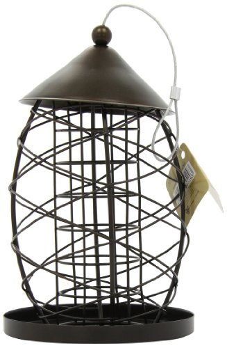 Rosewood 25529 Meisenknödel-Spender im Stil Einer Alten Laterne für Wildvögel
