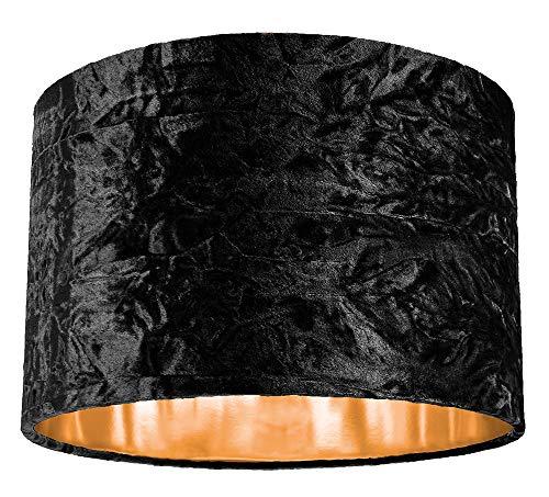 Moderne zwart geplet fluweel 12