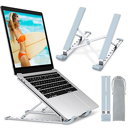Babacom Laptop Stand, Aluminum Portable Laptop Cooling Desk Holder,...