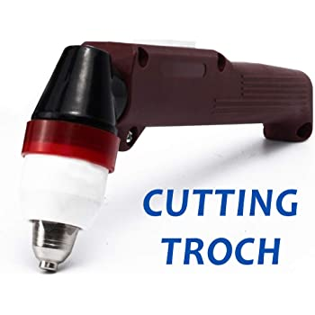 P80 Plasma Cutting Torch Head Body For Plasma Cutter Machine with Wrench Red C