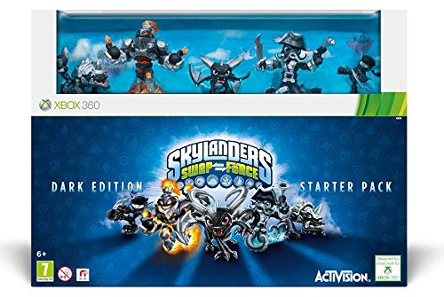 XBOX 360 Skylanders Swap Force Starter Pack DARK EDITION Collector Pack