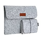 dodocool 13.3 Inch Laptop Felt Sleeve Carrying Case with
