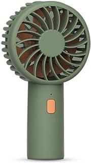 Mini ventilador portátil para exteriores, portátil de Okcsc, ventilador de mano, eléctrico, USB, recargable por USB, para 3 horas de uso, 3 velocidades para exteriores, deportes, hogar