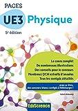PACES UE3 Physique - 5e éd. - Manuel, cours + QCM corrigés (3 - UE3 t. 1) - Format Kindle - 16,99 €