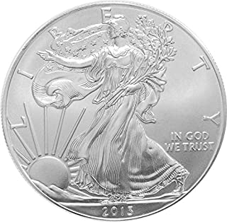 2013-1 Ounce American Silver Eagle Low Flat Rate Shipping .999 Fine Silver Dollar Uncirculated US Mint
