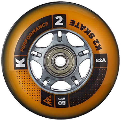 K2 Inline Rollenset Hi-Lo 8 Pack ILQ 7, 84mm/80mm, 3053012.1.1.1