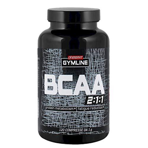 ENERVIT 70815 Gymline Muscle B.C.A.A., Integratore Alimentare, 120 Compresse