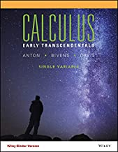 Calculus, Binder Ready Version: Early Transcendental Single Variable