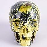 Figuras,Estatuas,Estatuillas,Esculturas,3 Pulgadas Forma Humana Natural Tallado A Mano Amarillo Negr...