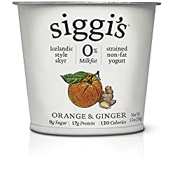 Siggi's, Fat Free Orange Ginger, 5.3 oz