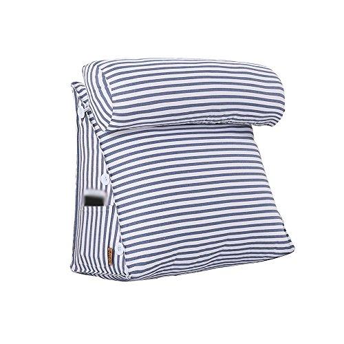 coussins pour Coussins De Chevet Triangulaires Coussins De Canapé En Toile Coussins, Coussins Réglables (Couleur : # 2, taille : 60 cm)
