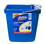 Quickie 20040-4 5-Gallon Bucket and Cleaning Caddy