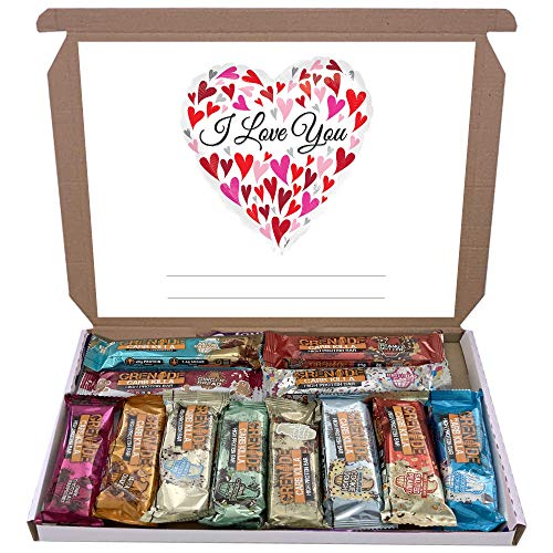 Grenade Carb Killa 12x60g High Protein Bars Bar Gift Hamper Box Mixed 12 Flavours (I Love You)