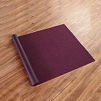 WENLI テーブルランナー 洗えるテーブルランナー互換表は、キッチンテーブル耐汚染性、6色分の1表ランナーと織りビニル耐熱プレースランナー (Color : Purple, Size : 40*180cm)