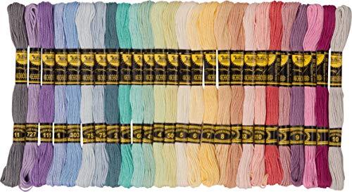 Sticktwist Pastell 52 Döckchen à 8 m