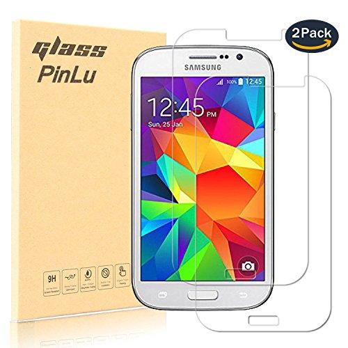 pinlu [2 Pack] Protector de Pantalla de Cristal para Samsung Galaxy Grand...
