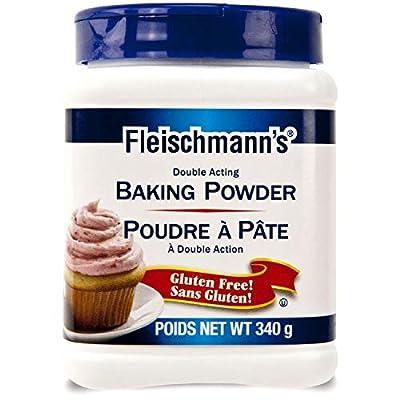 Fleischmann's Double Acting Baking Powder Gluten Free 340g {Imported from Canada}