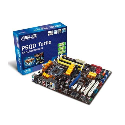 Asus P5QD Turbo Mainboard Sockel Intel 775 P45+ ICH10R DDR2 Speicher ATX