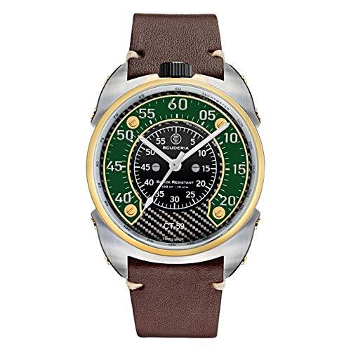 CT Scuderia Bullet Head Fifty Nine Reloj de cuarzo fabricado en Suiza con cristal de zafiro