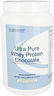 Biogenesis - Ultra Pure Whey Protein - Chocolate, 2 lb 8.6 oz (1152 g)