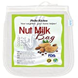iNeibo Bolsa de leche de nuez, tela de filtración hecha de nailon resistente al desgarro. Tamaño:...