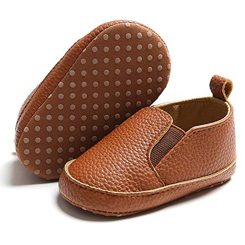 Infant Boy Brown Dress Shoes