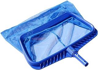 GoolRC Swimming Pool Skimmer Net, Heavy Duty Leaf Rake Cleaning Tool, Fine Mesh Shallow Deep Water Net Bag Catcher