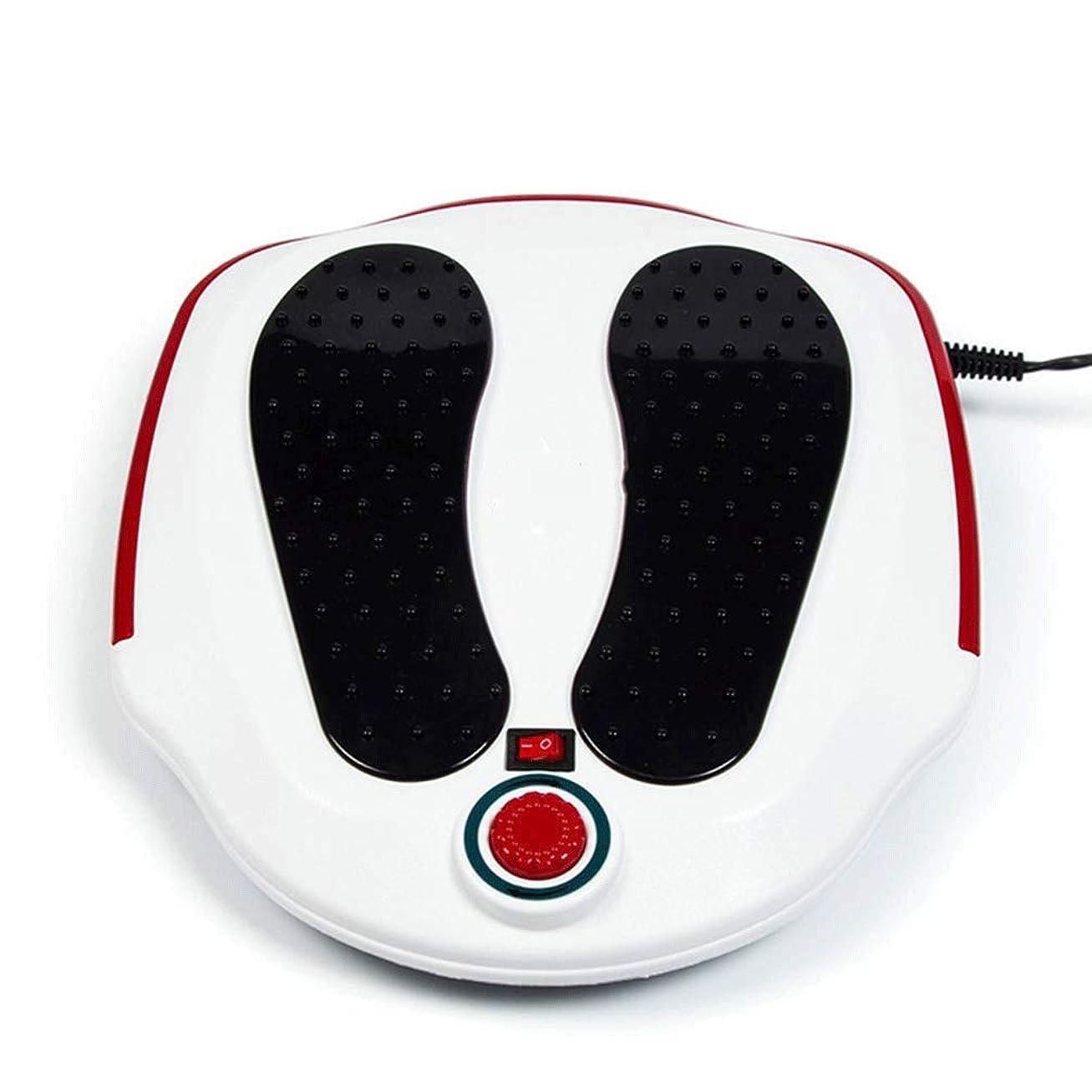 複雑でないフラフープウォーターフロントLLRYN 熱を備えた指圧フットマッサージャー、足底筋膜炎、足の痛みと疲労を和らげるディープニーディング電動足マッサージ機、睡眠の改善