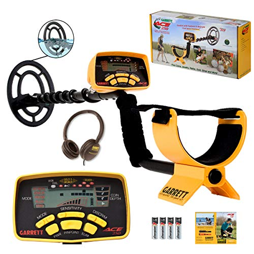 Garrett ACE 250 Metal Detector with Submersible Search...