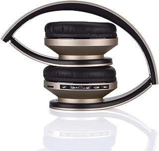 MDHANBK Auriculares inalámbricos Bluetooth, Tarjeta TF Compatible