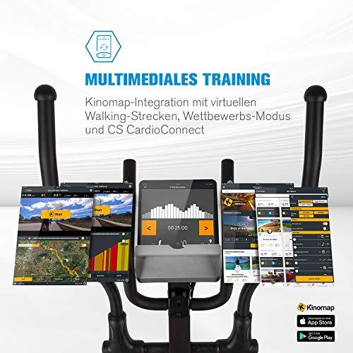 Capital Sports Helix Track Crosstrainer mit Trainingscomputer - 4