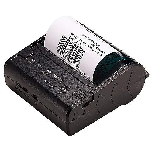 TSSM thermo-belegprinter, draadloze bluetooth, 80 mm, met high speed printing DIP-functie met USB-seriële ethernet-poort voor restaurant winkel thuis bedrijf