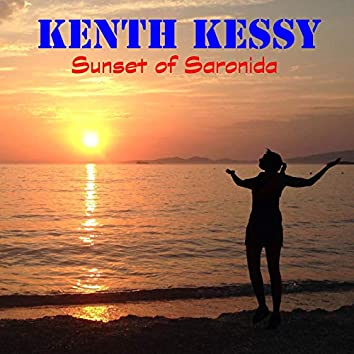 Sunset of Saronida
