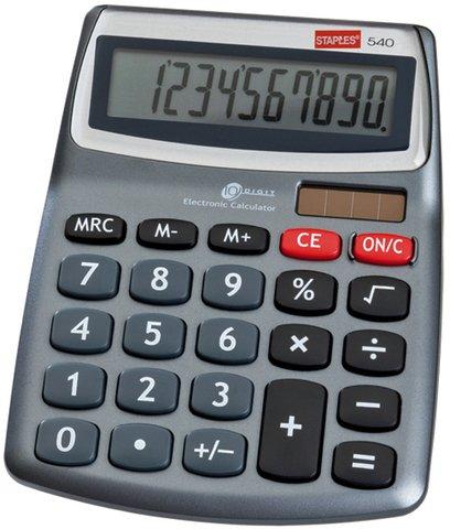 Staples 540 MINI Desktop Taschenrechner