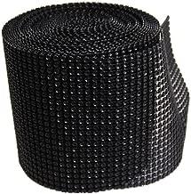 Diamond Mesh Wrap Roll Rhinestone Crystal Ribbon 4.5