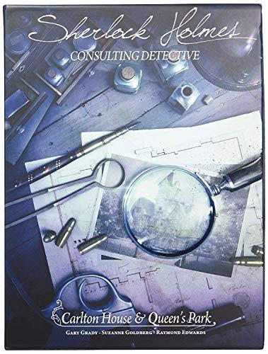 Space Cowboys ASMSCSHCQ01EN Carlton House & Queen's Park-Sherlock Holmes: Consulting Detective, Multicolor
