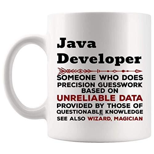 Java divertida del desarrollador taza del regalo - 11oz taza de café - mejores regalos para hombres camiseta de las mujeres tazas de las tazas