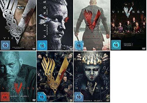 Vikings Staffel 1-5.2 (1+2+3+4.1+4.2+5.1+5.2, 1 bis 5.2) [DVD Set]