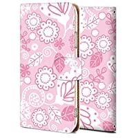 ZTE libero S10 ケース 手帳型 カバー おしゃれ かわいい 耐衝撃 花柄 人気 純正 全機種対応 花 フラワー シンプル 9379456