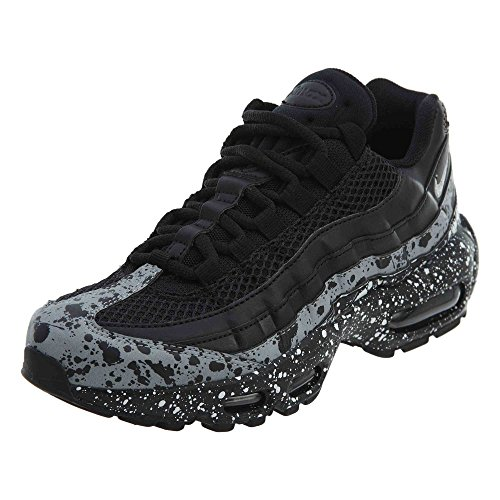 Nike WMNS Air Max 95 Se Womens 918413-003 Size 6.5 Black Black White