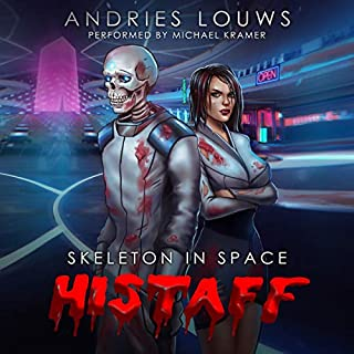 Histaff: A Sci-Fi LitRPG audiobook cover art
